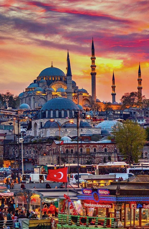 Istanbul mob slider